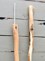 Diamond Willow Bear Stick